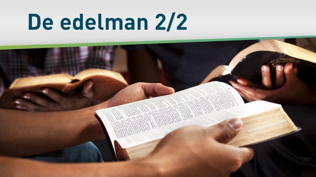 Wat we van een edelman kunnen leren 2/2 – Harrison Conley 18