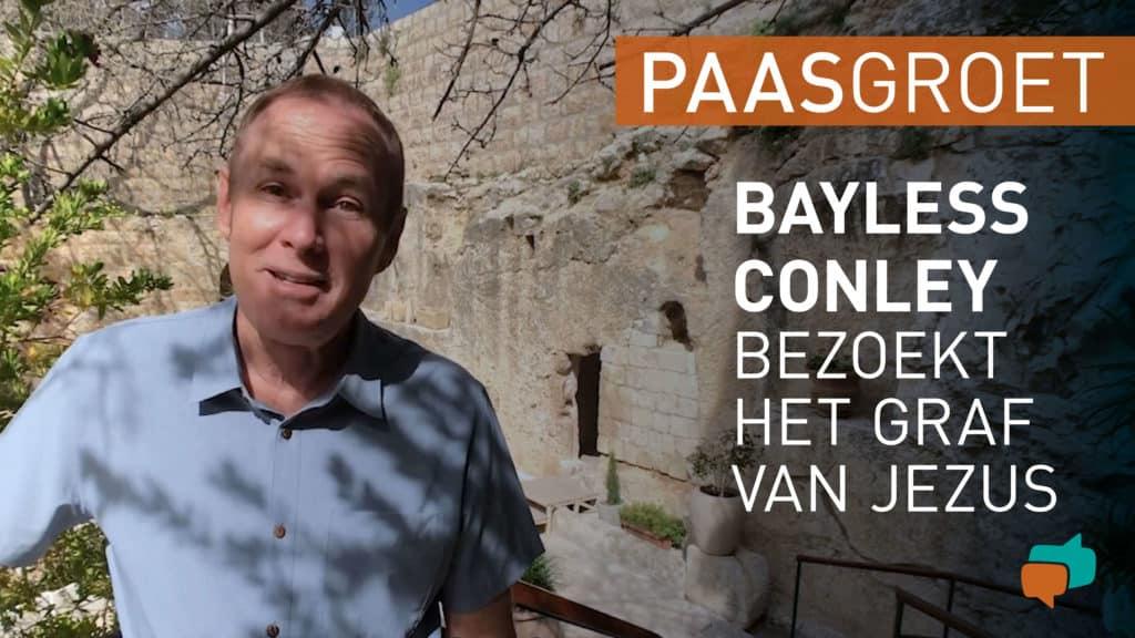 Bayless Conley bezoekt het graf van Jezus 1