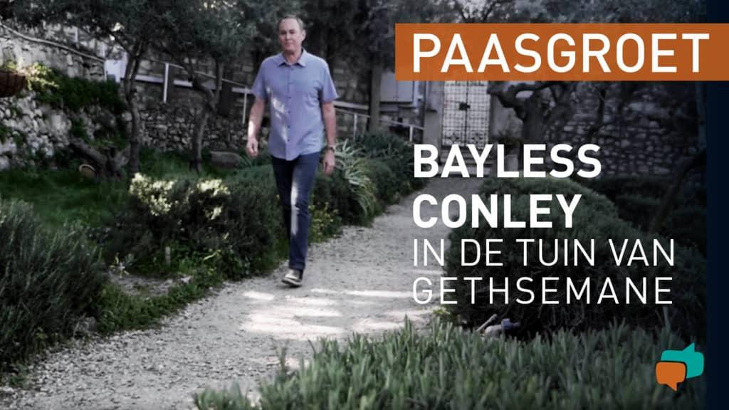 Bayless Conley in de tuin van Gethsemane 2