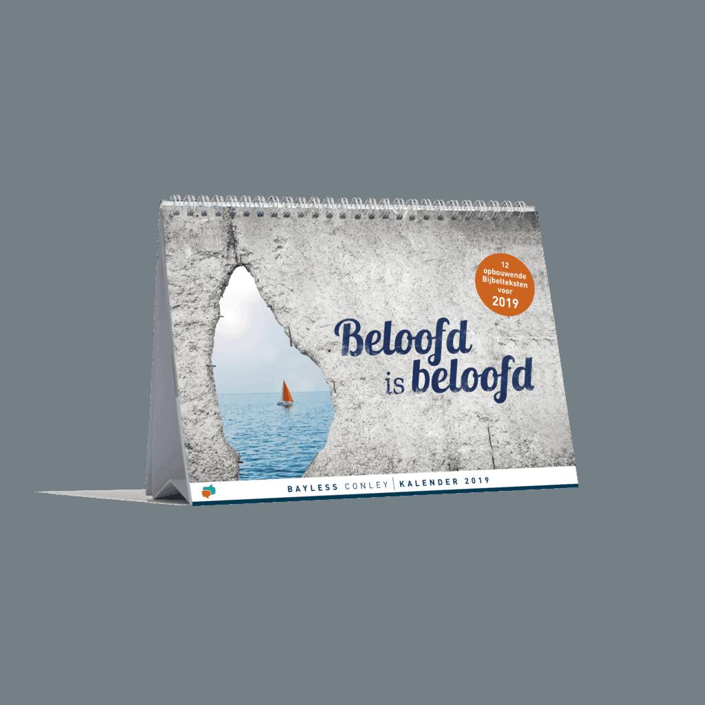 Kalender 2019: Beloofd is beloofd 2