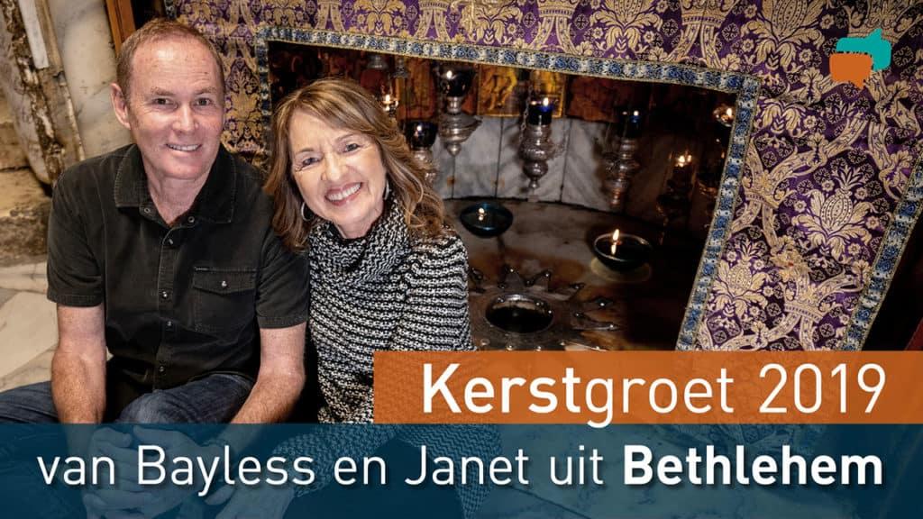 Bayless en Janet wensen je prettige Kerstdagen 1