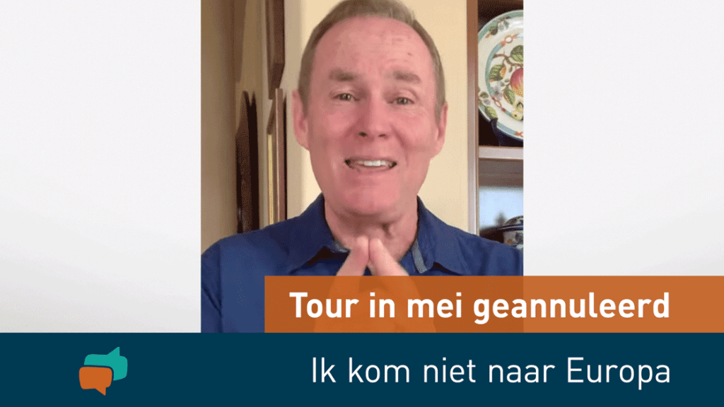 Tour in mei 2020 geannuleerd 2