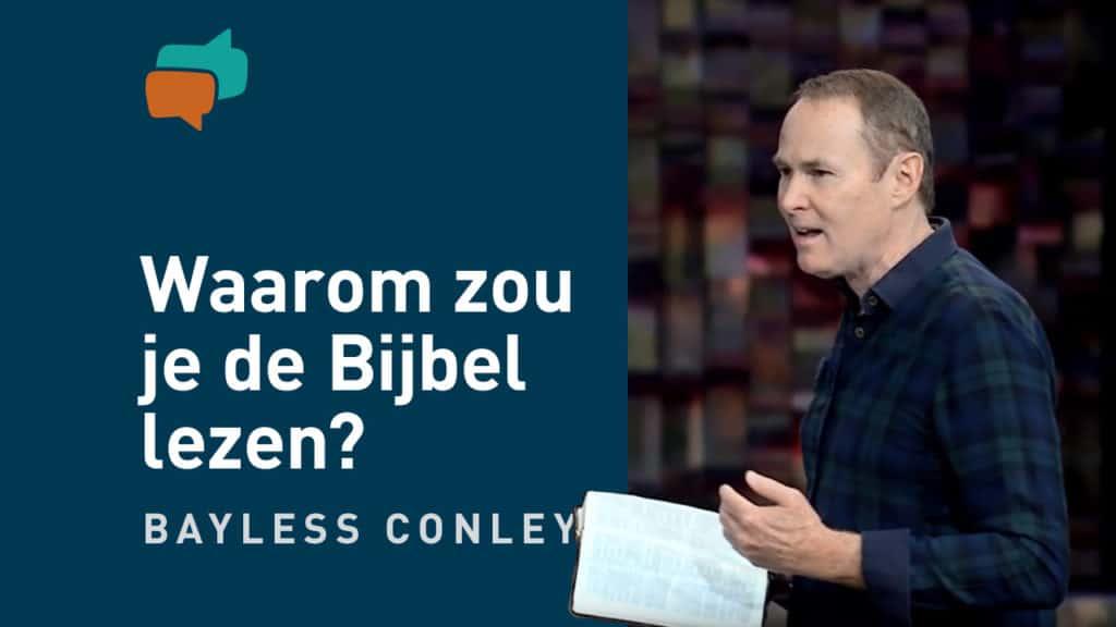 Waarom Bijbellezen belangrijk is 13